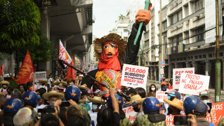 Farmers push for land, aid and justice